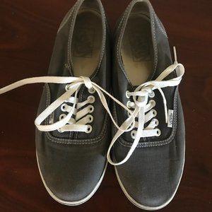 Gray Vans Sneakers Women's Size 8.5